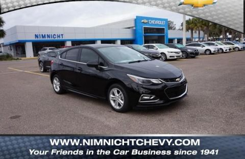 New 2018 Chevrolet Cruze 4dr HB 1.4L LT w/1SD