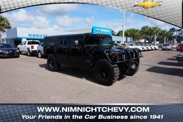 Pre-Owned 1999 AM General Hummer 4-Passenger Wgn Enclosed
