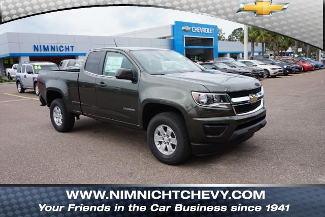 New 2018 Chevrolet Colorado 4wd Ext Cab 128 3 Work Truck