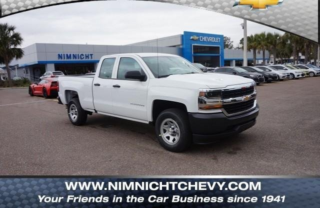 New 2018 Chevrolet Silverado 1500 Work Truck 2WD Double ...