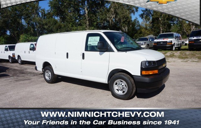 Cargo Van For Sale >> New 2018 Chevrolet Express Cargo Van Work Van Rwd Rwd 2500 135