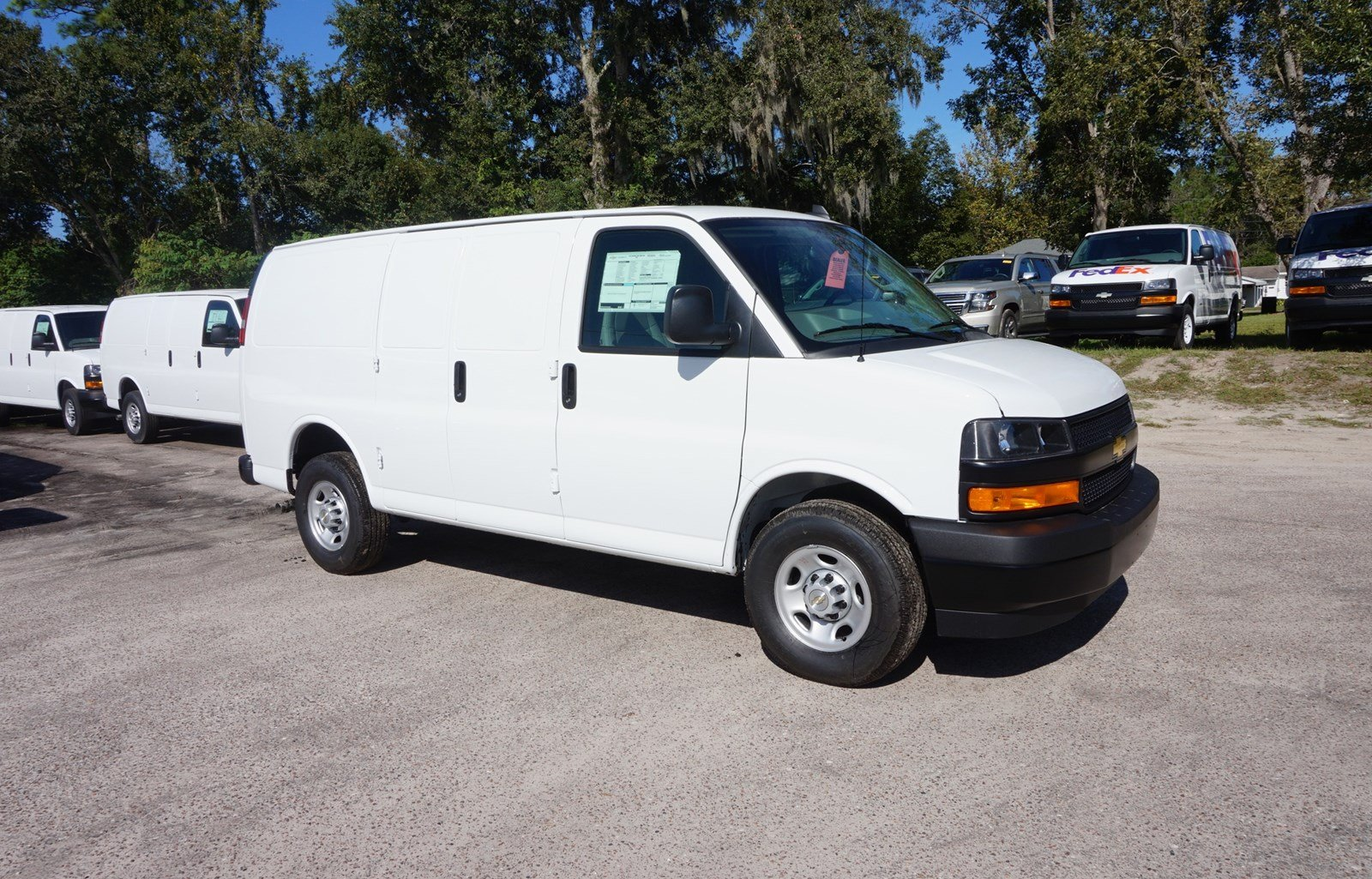 New 2018 Chevrolet Express Cargo Van For Sale Jacksonville Fl 8g151