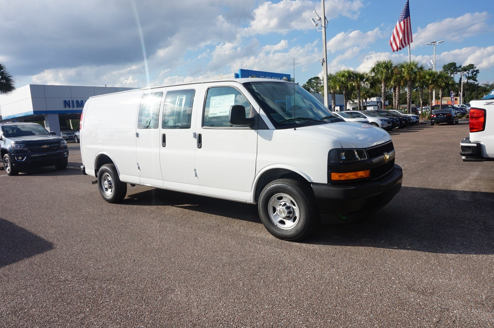 f5f983d22b New 2018 Chevrolet Express Cargo Van For Sale Jacksonville FL