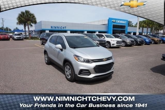 Certified Pre Owned 2017 Chevrolet Trax Ls