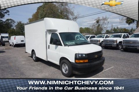 New 2018 Chevrolet Express Commercial Cutaway Work Van